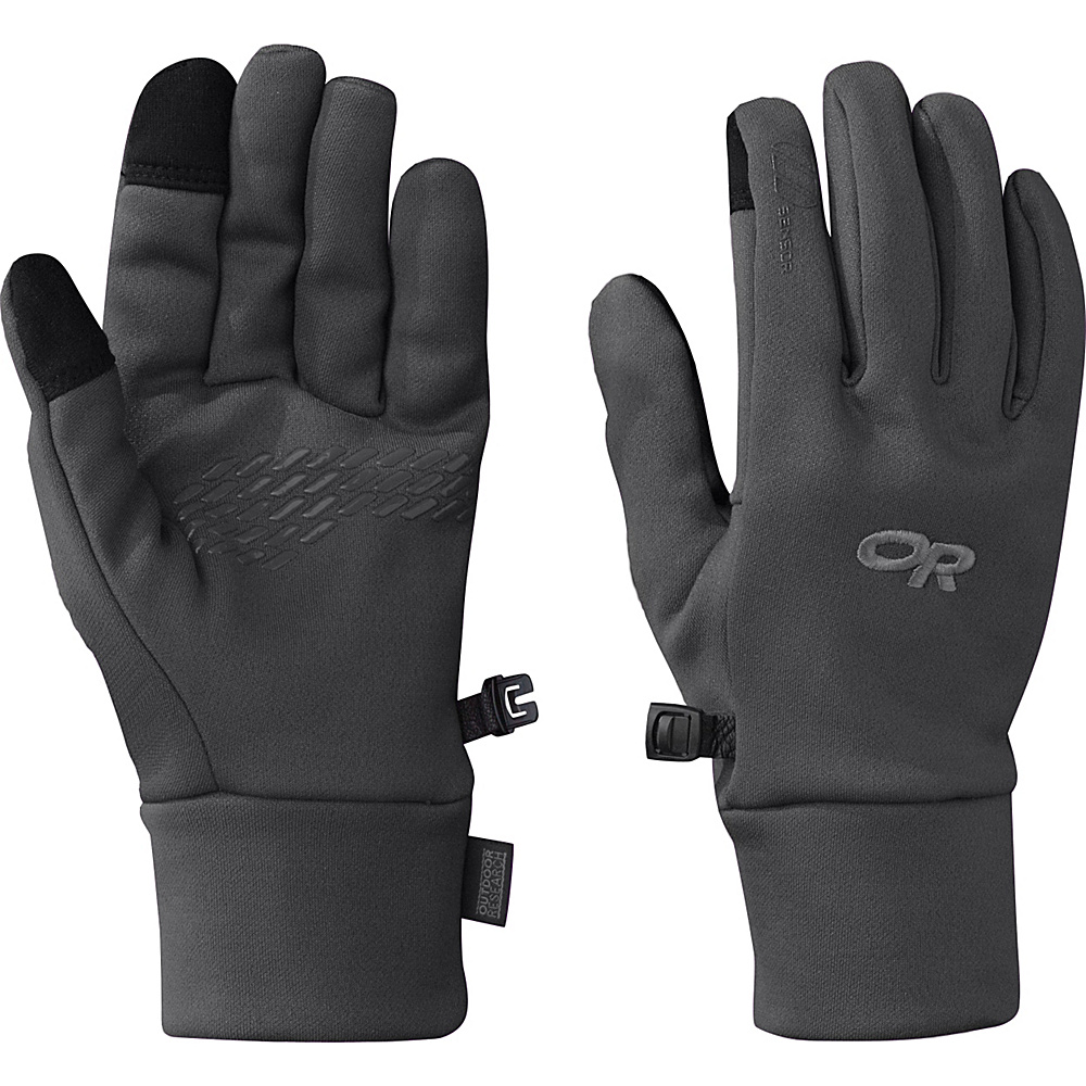 Outdoor Research PL 100 Sensor Gloves Womens L - Charcoal Heather – LG - Outdoor Research Hats/Gloves/Scarves - Fashion Accessories, Hats/Gloves/Scarves
