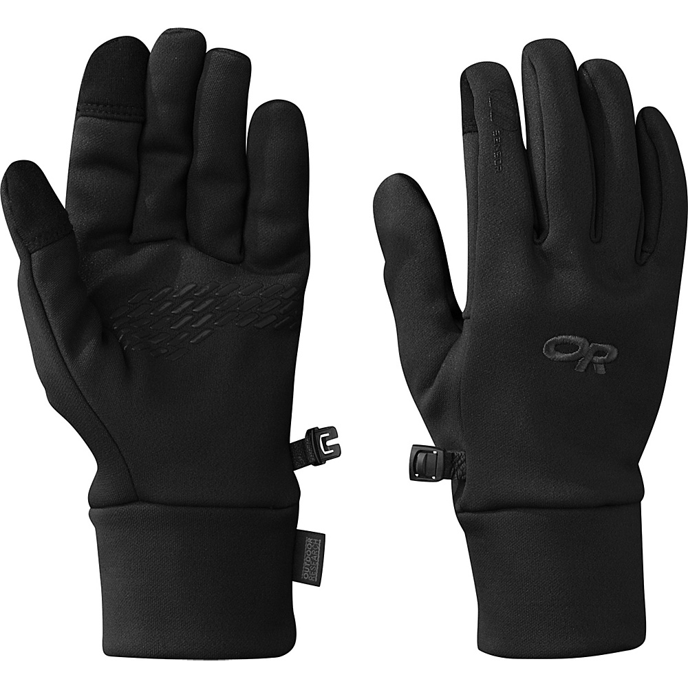 Outdoor Research PL 100 Sensor Gloves Womens L - Black - Outdoor Research Hats/Gloves/Scarves - Fashion Accessories, Hats/Gloves/Scarves