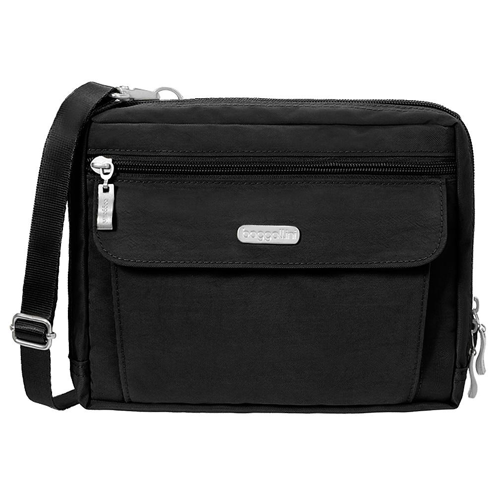 baggallini Wander Bagg Black/Sand - baggallini Fabric Handbags - Handbags, Fabric Handbags