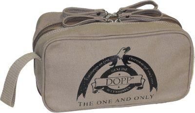 Dopp Legacy Double Zip Travel Kit Beige - Dopp Toiletry Kits