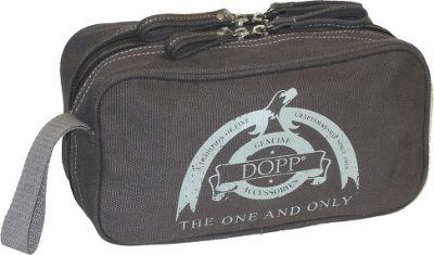 Dopp Legacy Double Zip Travel Kit Grey - Dopp Toiletry Kits