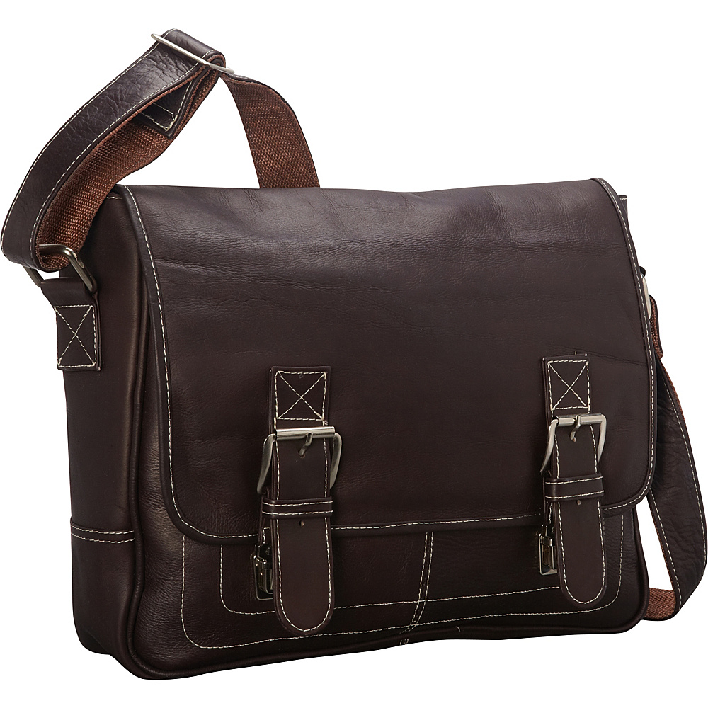 Latico Leathers Adventurer Shoulder Bag Café - Latico Leathers Other Mens Bags - Work Bags & Briefcases, Other Men's Bags