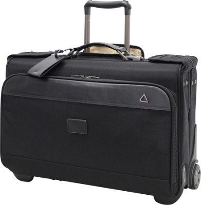 "Image of Andiamo Avanti 22"" Wheeled Carry-On Garment Bag Midnight Black - Andiamo Garment Bags"