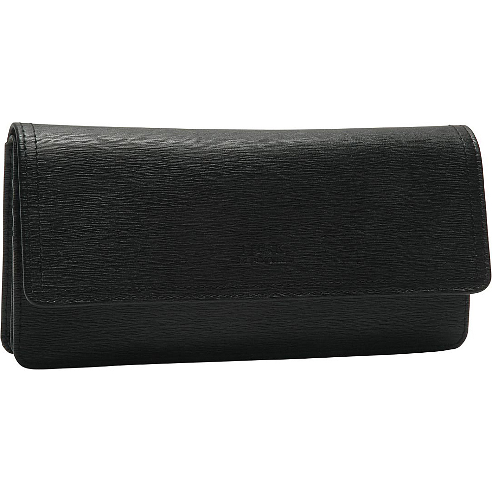 TUSK LTD Madison Gusseted Clutch Wallet Black TUSK LTD Women s Wallets