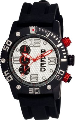Breed Grand Prix Watch White and Black - Breed Watches