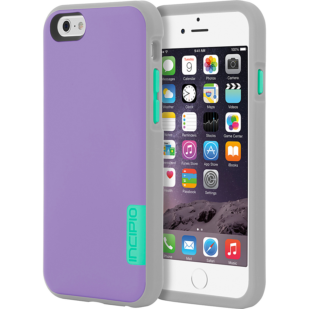 Incipio Phenom iPhone 6 6s Case Purple Gray Turquoise Incipio Electronic Cases