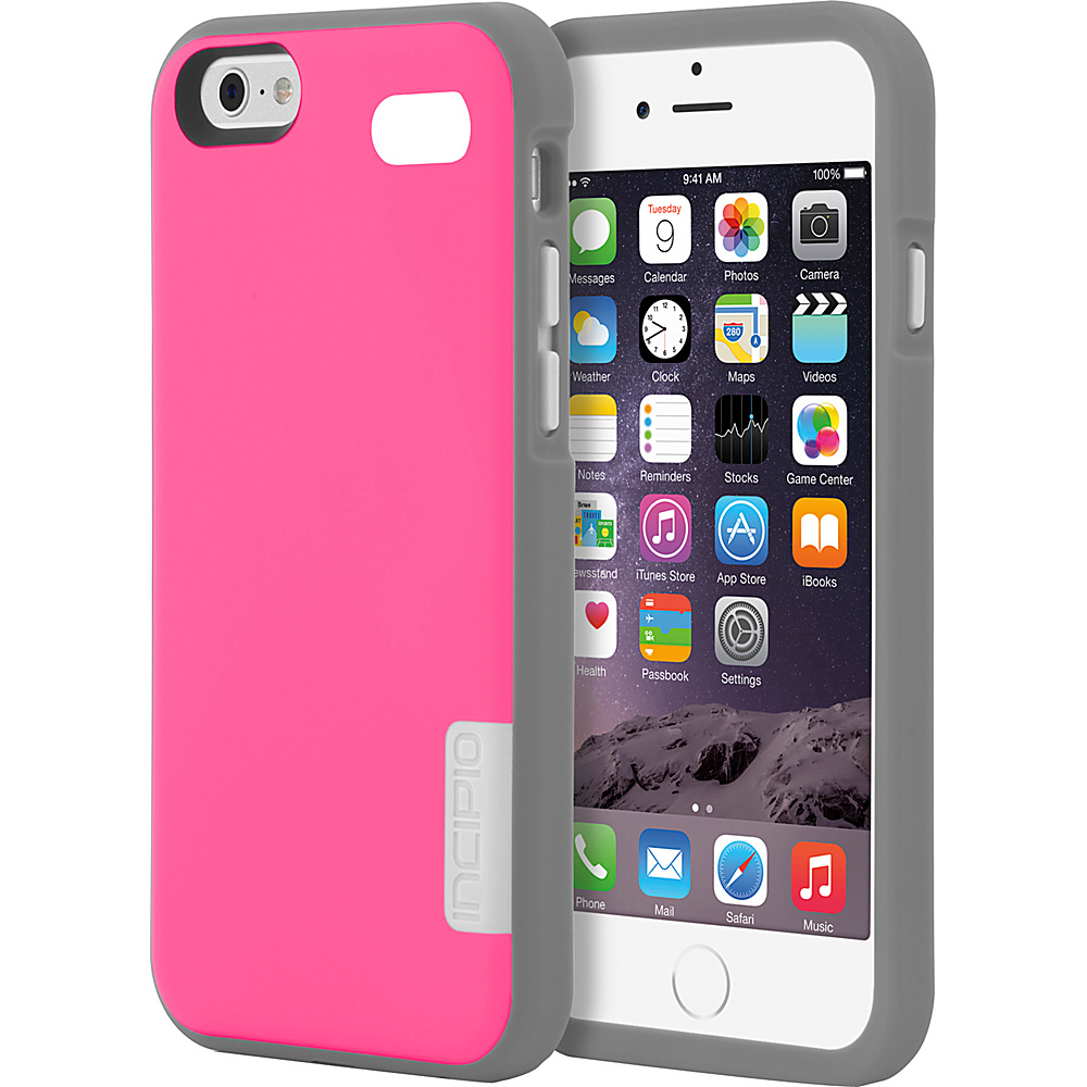 Incipio Phenom iPhone 6 6s Case Pink Charcoal Incipio Electronic Cases