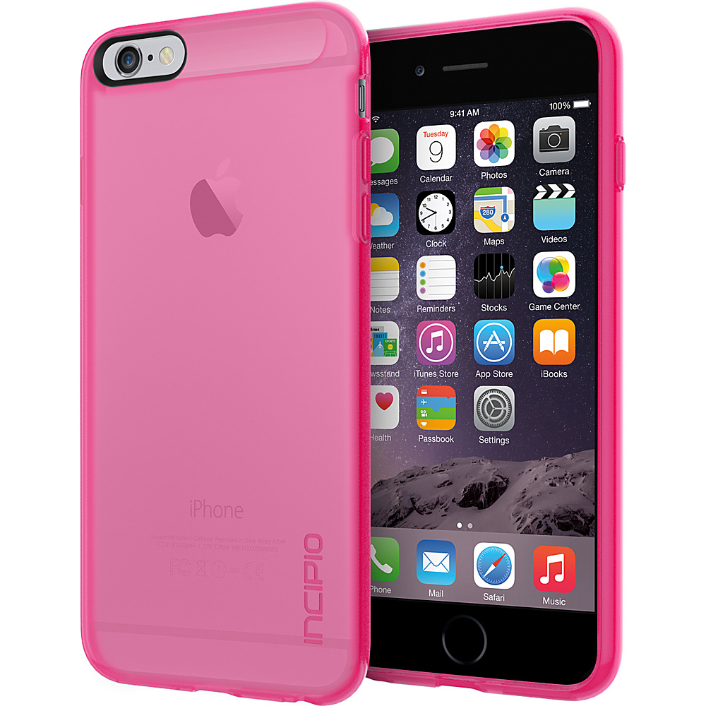 Incipio NGP for iPhone 6/6s Plus Case Translucent Neon Pink - Incipio Electronic Cases - Technology, Electronic Cases