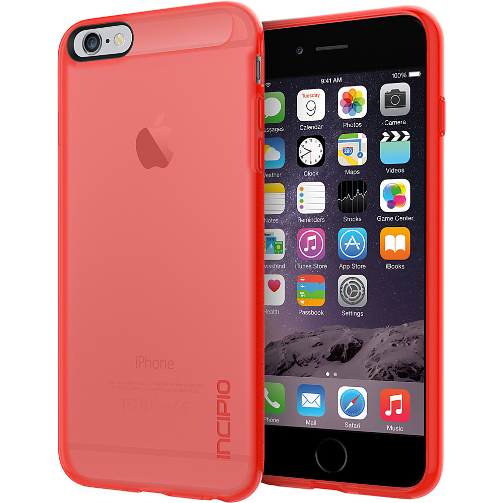 Incipio NGP for iPhone 6/6s Plus Case Translucent Neon Red - Incipio Electronic Cases - Technology, Electronic Cases
