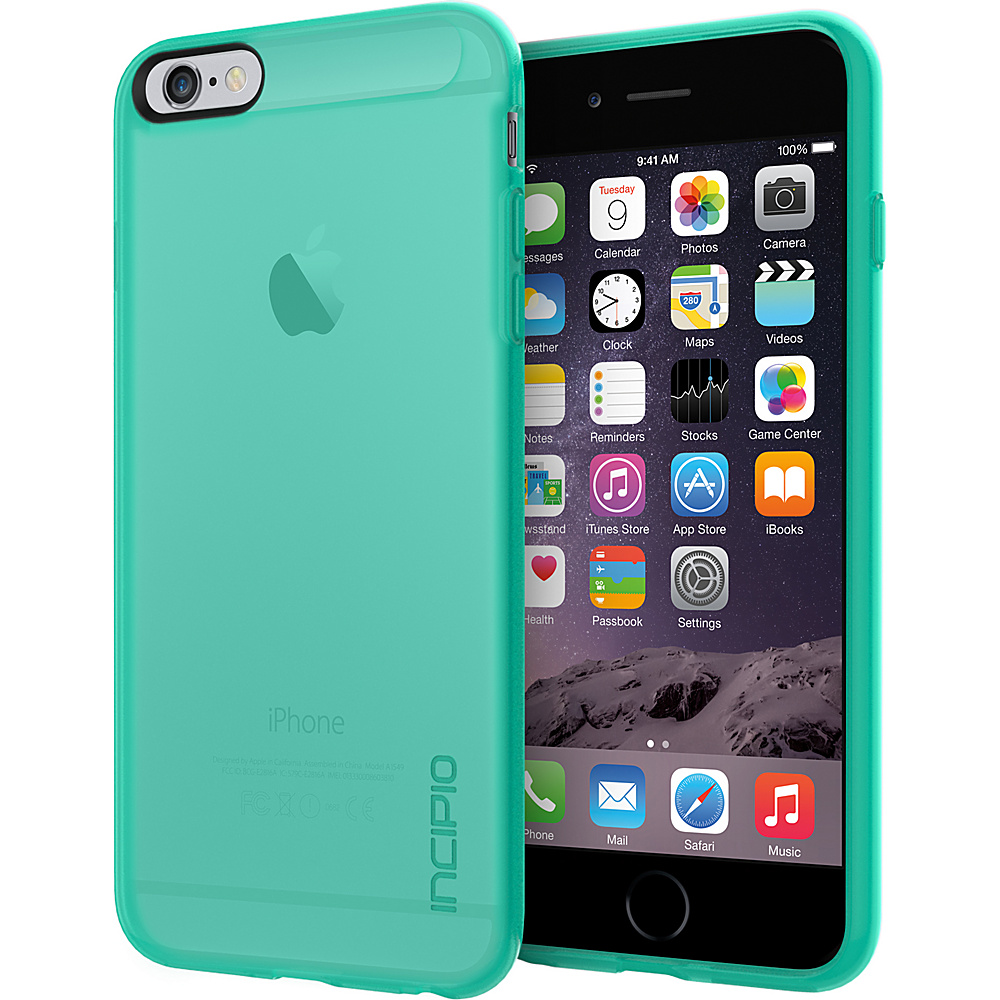 Incipio NGP for iPhone 6/6s Plus Case Translucent Teal - Incipio Electronic Cases - Technology, Electronic Cases
