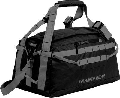 Granite Gear 20 inch Packable Duffel Black/Flint - Granite Gear Outdoor Duffels