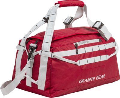 Granite Gear 20 inch Packable Duffel Redrock/Chromium - Granite Gear Outdoor Duffels