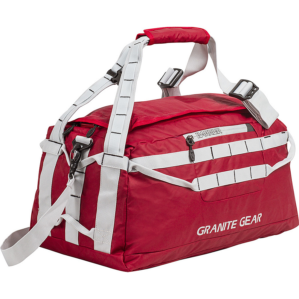 "Granite Gear 20"" Packable Duffel Redrock/Chromium - Granite Gear Lightweight packable expandable bags"