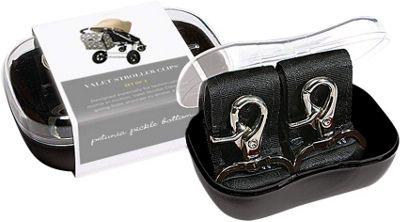 Petunia Pickle Bottom Petunia Pickle Bottom Valet Stroller Clips Black - Petunia Pickle Bottom Diaper Bags & Accessories