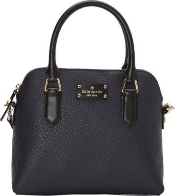 kate spade new york Grove Court Maise Satchel Galaxy/Pebble/Black - kate spade new york Designer Handbags