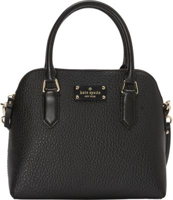 kate spade new york Grove Court Maise Satchel Black - kate spade new york Designer Handbags