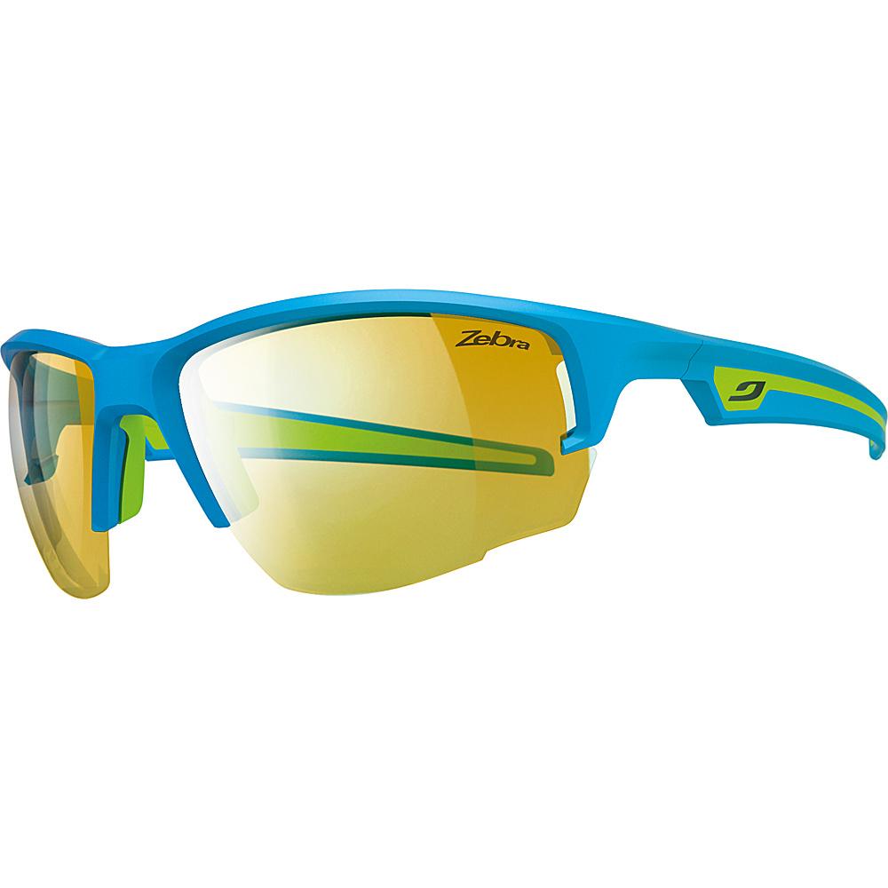 Julbo Venturi Sunglasses with Zebra Lenses Blue / Green - Julbo Sunglasses