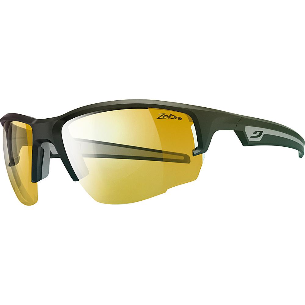 Julbo Venturi Sunglasses with Zebra Lenses Matt Black  /  Grey - Julbo Sunglasses