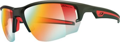 Julbo Venturi Sunglasses with Zebra Lenses Matte Black/Red - Julbo Eyewear