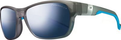 Julbo Coast Sunglasses with Polar Lenses Transparent Grey / Blue - Julbo Sunglasses