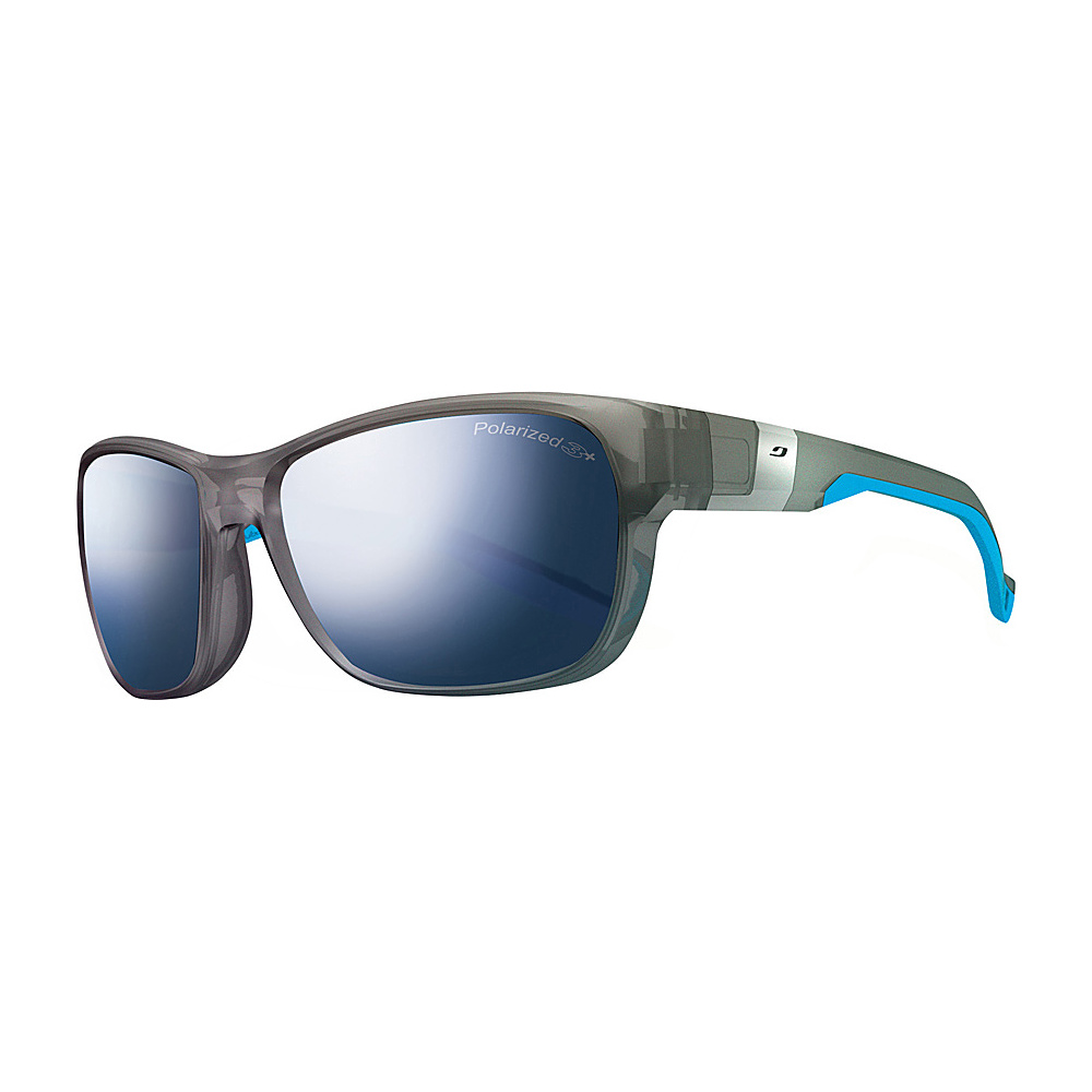 Julbo Coast Sunglasses with Polar Lenses Transparent Grey Blue Julbo Sunglasses