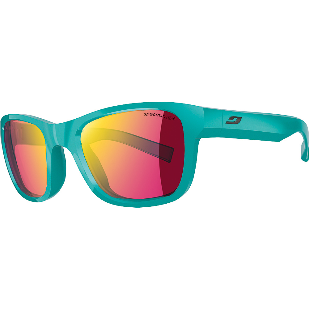 Julbo Reach L Sunglasses with Spectron 3CF Lenses Shiny Turquoise Julbo Sunglasses