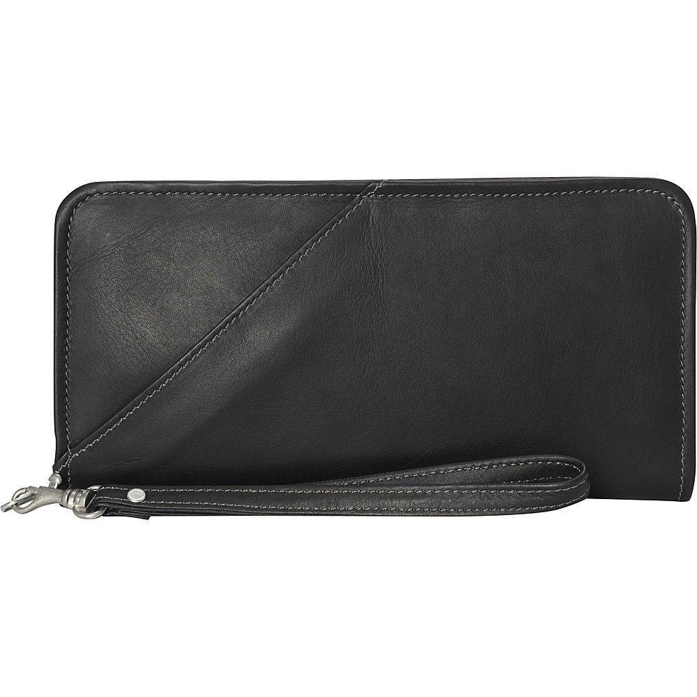 Piel Executive Travel Wallet Black - Piel Travel Wallets - Travel Accessories, Travel Wallets