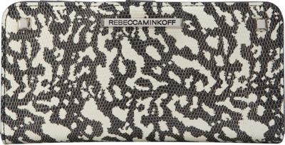 Rebecca Minkoff Sophie Snap Wallet Black/White - Rebecca Minkoff Designer Ladies Wallets