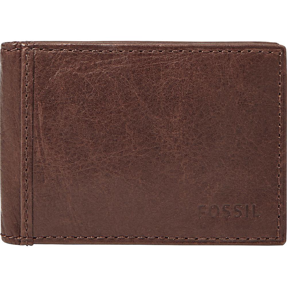 Fossil Ingram Flip Bifold Front Pocket Wallet Brown - Fossil Mens Wallets - Work Bags & Briefcases, Men's Wallets
