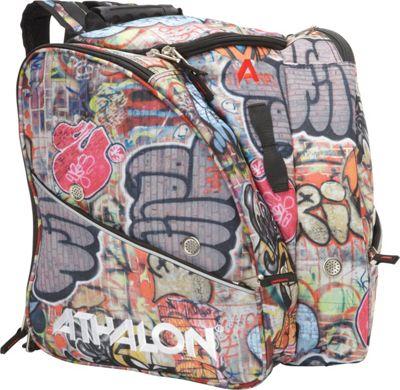 Athalon Tri-Athalon Kids Boot Bag Graffiti - Athalon Ski and Snowboard Bags