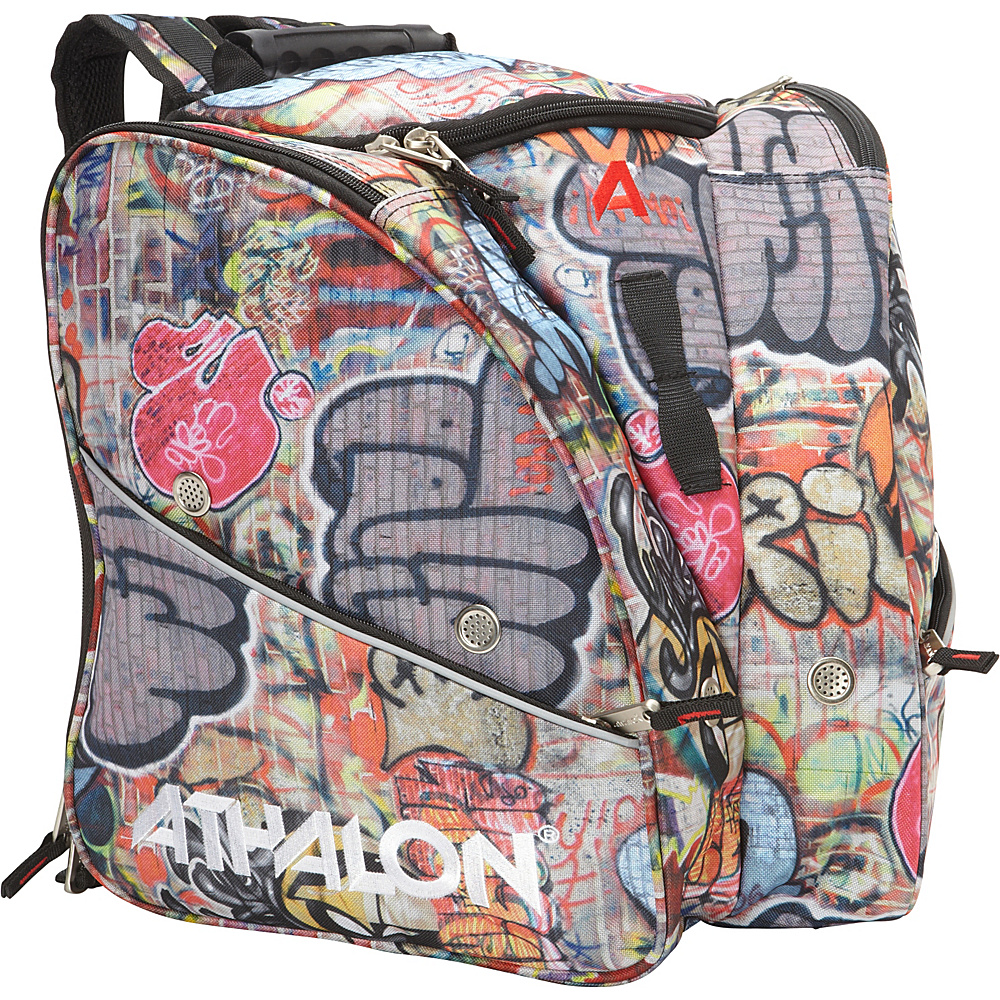 Athalon Tri-Athalon Kids Boot Bag Graffiti - Athalon Ski and Snowboard Bags