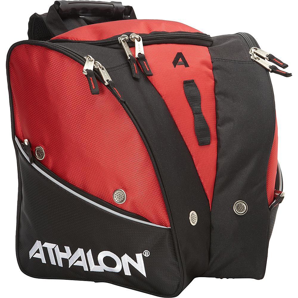 Athalon Tri-Athalon Kids Boot Bag Red - Athalon Ski and Snowboard Bags