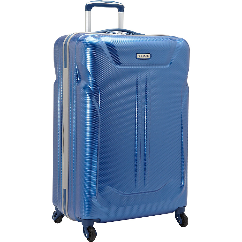 Samsonite LiFTwo Hardside Spinner 25 Blue Samsonite Hardside Checked