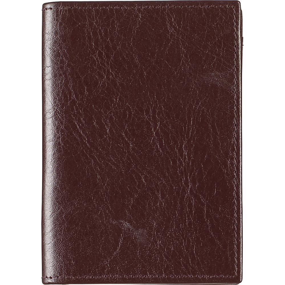Johnston Murphy Full Gusset Card Case Dark Brown Johnston Murphy Men s Wallets