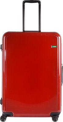 Lojel Horizon Large Hardside Spinner Luggage Red - Lojel Hardside Checked