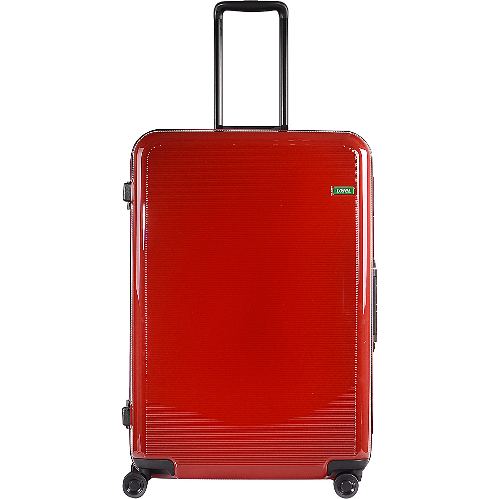 Lojel Horizon Large Hardside Spinner Luggage Red Lojel Hardside Checked