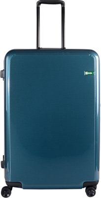 Lojel Horizon Large Hardside Spinner Luggage Blue Sapphire - Lojel Hardside Checked