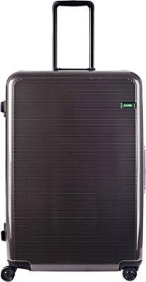 Lojel Horizon Large Hardside Spinner Luggage Iron Gray - Lojel Hardside Checked