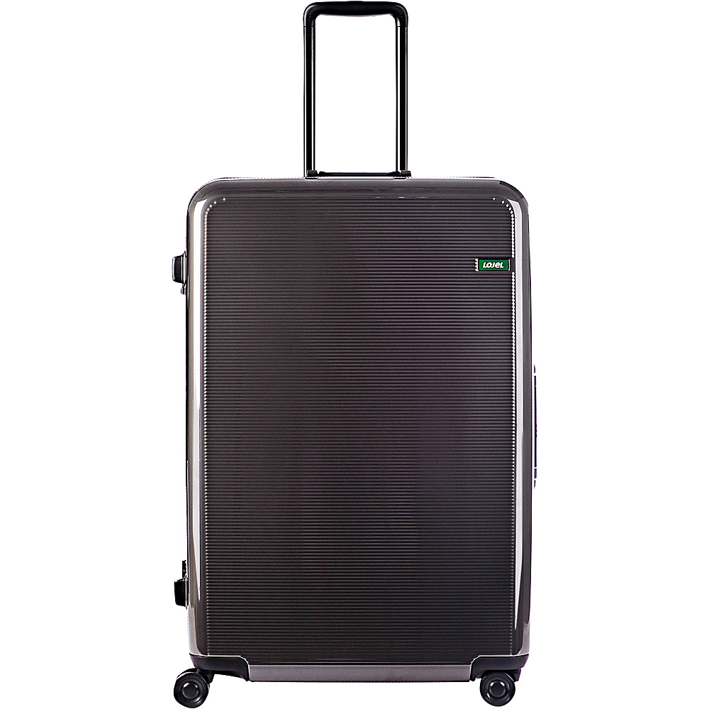 Lojel Horizon Large Hardside Spinner Luggage Iron Gray Lojel Hardside Checked