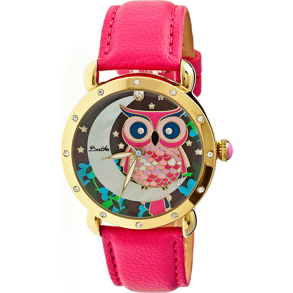 Bertha Watches Ashley Watch Hot Pink Multicolor Bertha Watches Watches