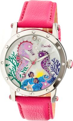 Bertha Watches Morgan Watch Hot Pink/Multicolor - Bertha Watches Watches