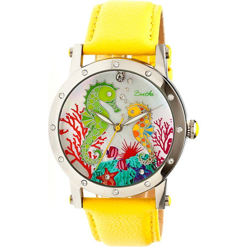 Bertha Watches Morgan Watch Yellow Multicolor Bertha Watches Watches