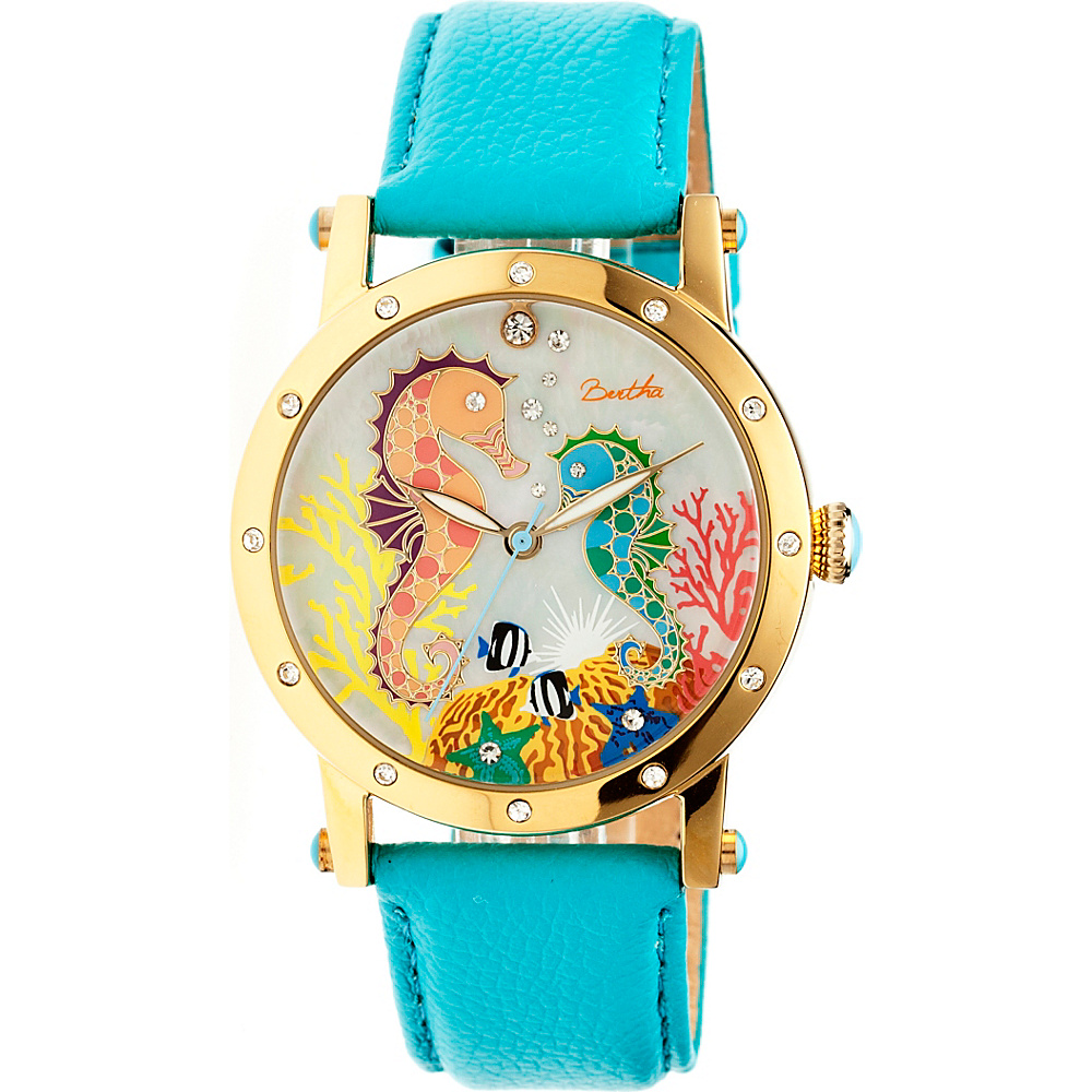 Bertha Watches Morgan Watch Turquoise Multicolor Bertha Watches Watches