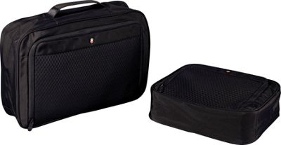 Victorinox Lifestyle Accessories 4.0 Set of Two Packing Cubes Black - Victorinox Packing Aids