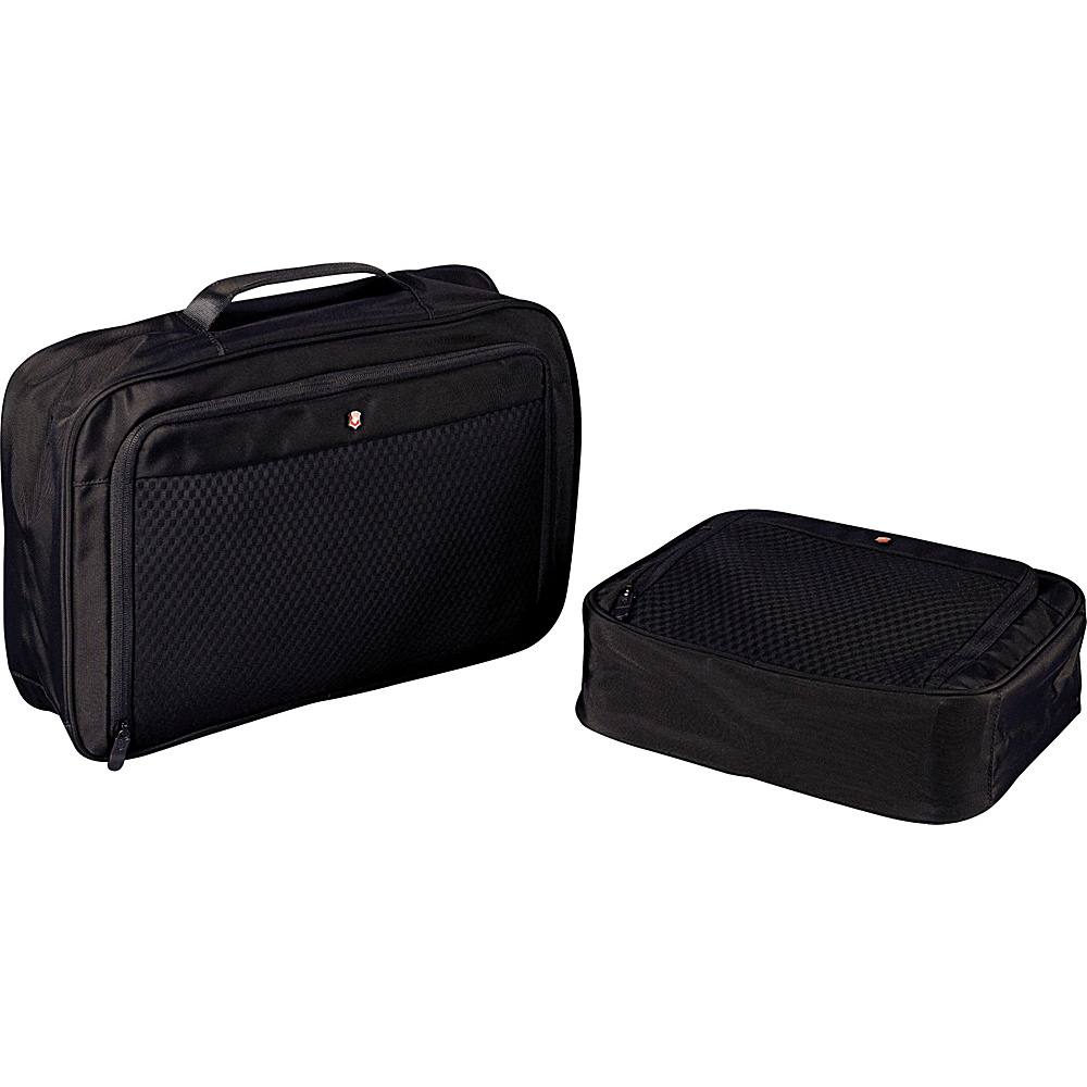 Victorinox Lifestyle Accessories 4.0 Set of Two Packing Cubes Black Victorinox Packing Aids