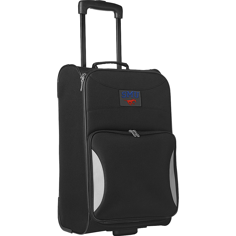 """Denco Sports Luggage NCAA 21"""" Steadfast Upright Carry-on Southern Methodist University Mustangs - Denco Sports Luggage Softside Carry-On"""