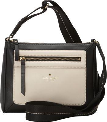 kate spade new york Sunset Court Vic Crossbody Black/Pebble - kate spade new york Designer Handbags