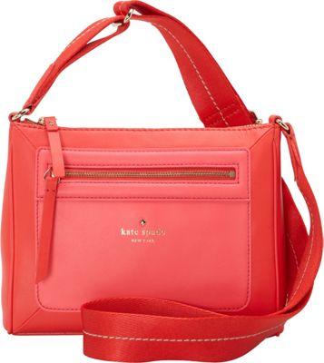 kate spade new york Sunset Court Vic Crossbody Geranium/Strawberry Froyo - kate spade new york Designer Handbags