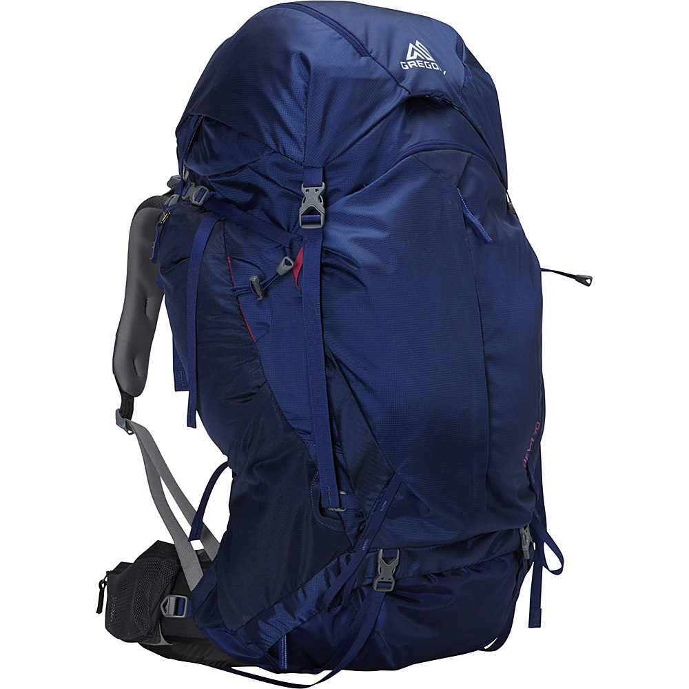 Gregory Deva 70 Extra Small Pack Egyptian Blue Gregory Day Hiking Backpacks