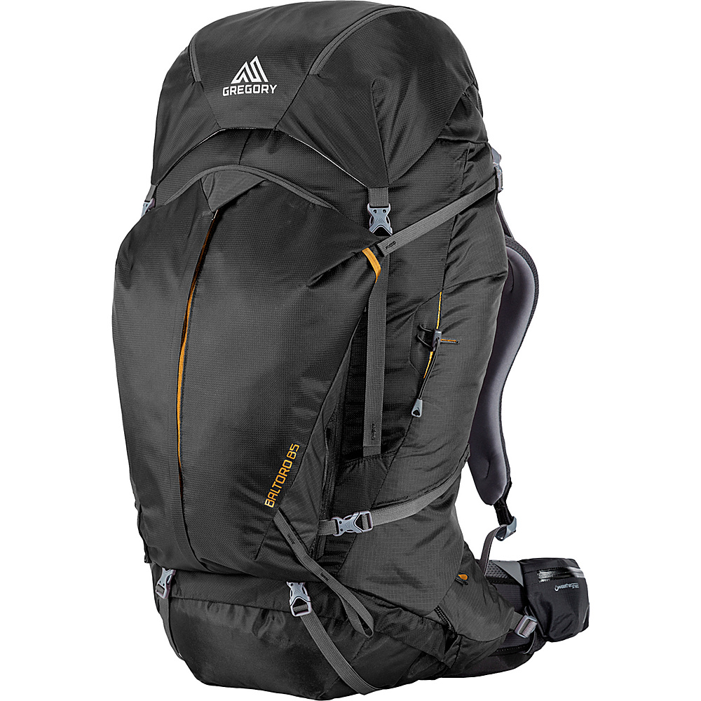 Gregory Men s Baltoro 85 Large Pack Shadow Black Gregory Day Hiking Backpacks
